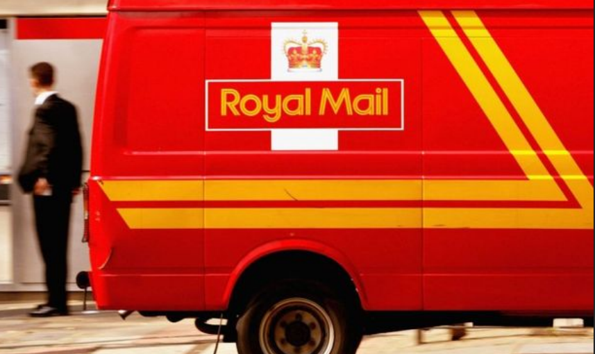 tracking Royal Mail express shipment