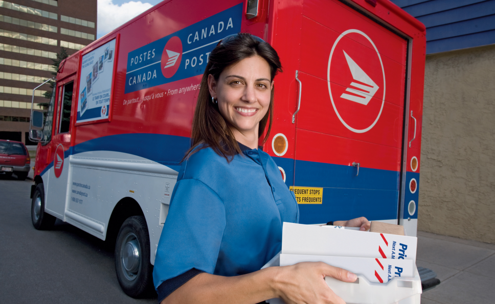 tracking Canada Post express shipment