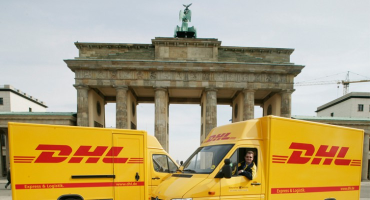 International DHL package tracking, Deutsche Post DHL