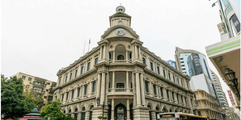 macao post beautiful building