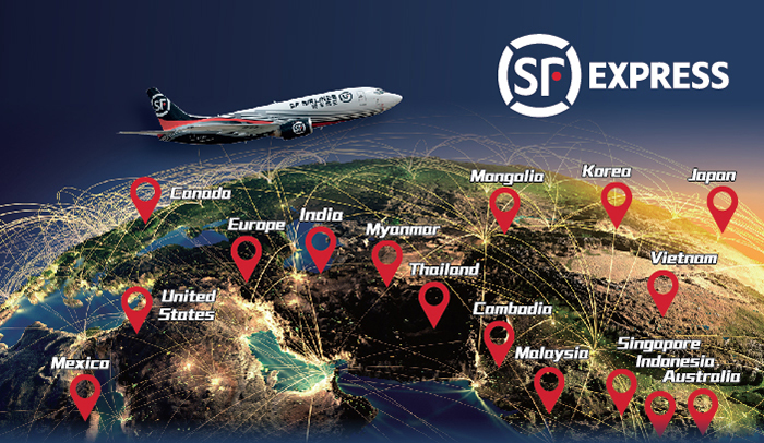 sf international express parcels tracking