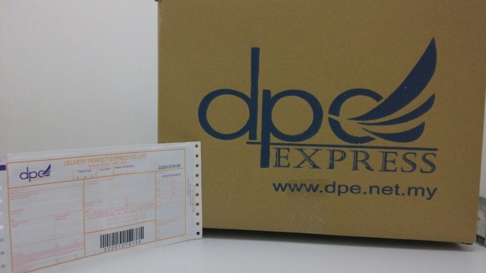 DPE Express tracking delivery Malaysia and south africa