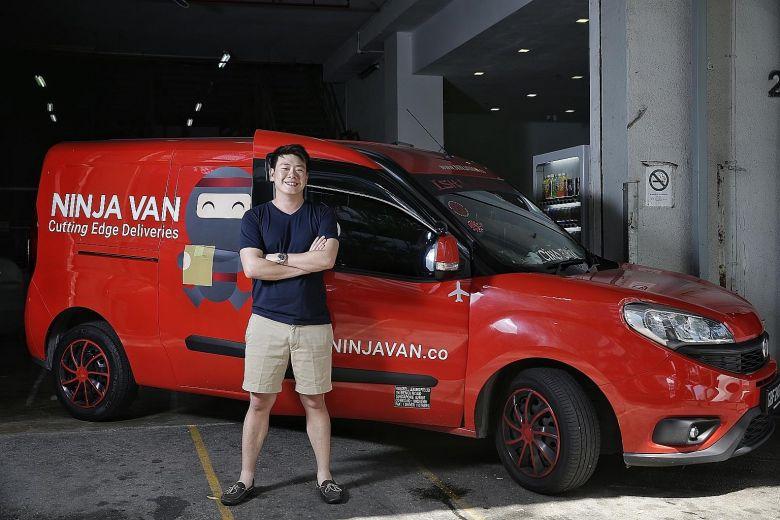 ninja van tracking delivery