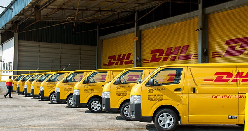 Track your DHL ECommerce parcels and mails delivery