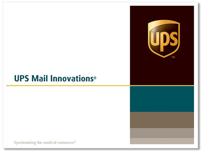 Track your UPS Mail Innovations parcels and mails delivery