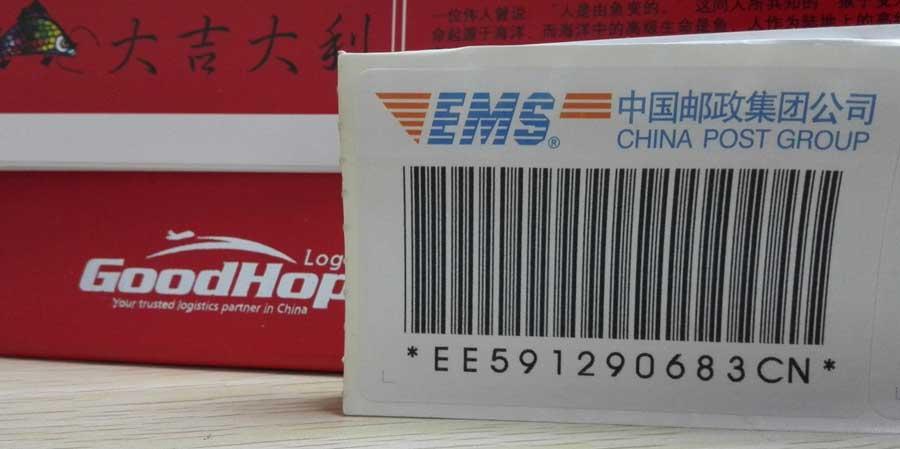 Realice un seguimiento de la entrega de paquetes y envíos de paquetes de China EMS (ePacket)