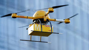 DHL drone launched delivery in china