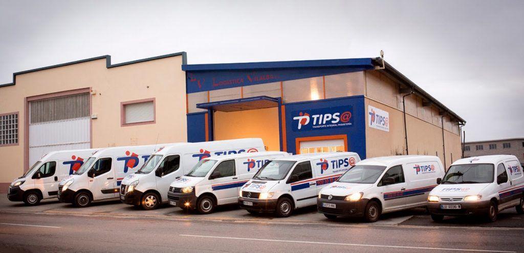 Realice un seguimiento de la entrega de paquetes y correos de TIPSA
