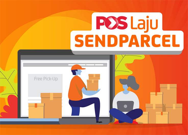 Poslaju courier tracking shipment