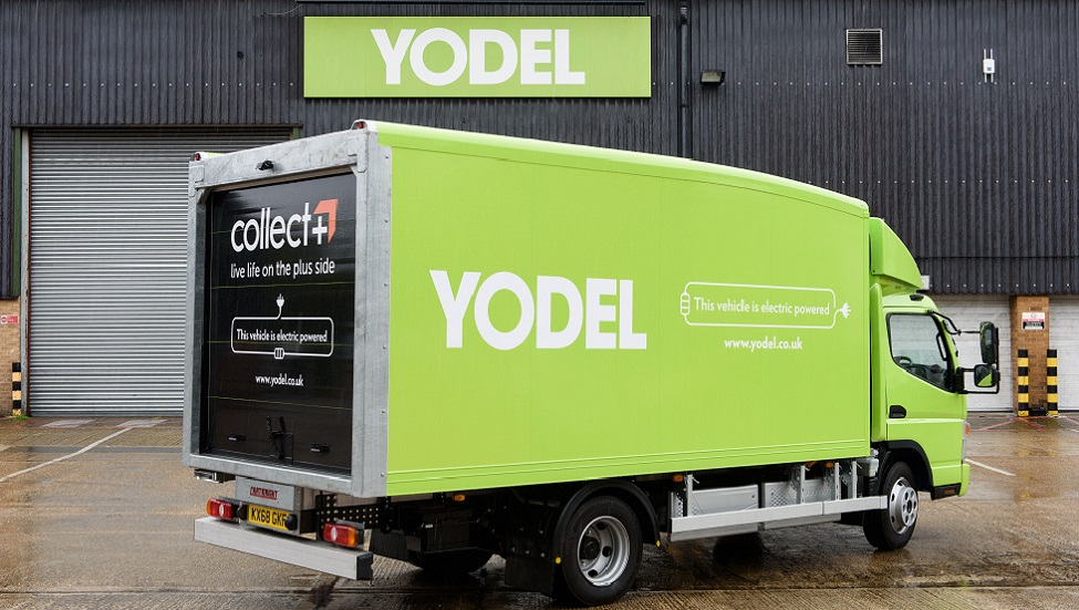Yodel parcel and mail tracking delivery